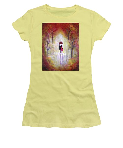 Autumn Romance Women's T-Shirt (Athletic Fit)