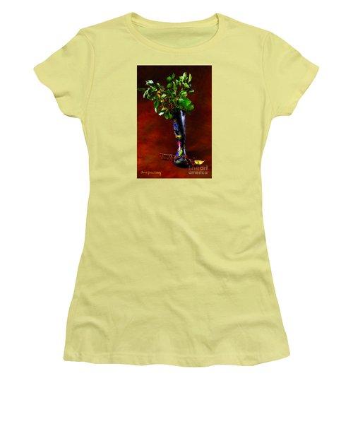 Autumn Symphony Women's T-Shirt (Athletic Fit)