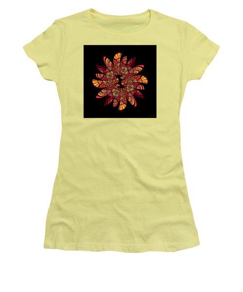 Autumn Wreath Women's T-Shirt (Athletic Fit)