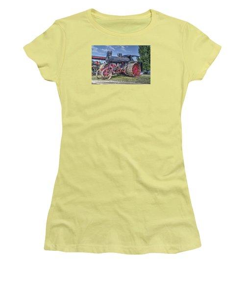 Avery 40 Hp  Women's T-Shirt (Junior Cut) by Shelly Gunderson