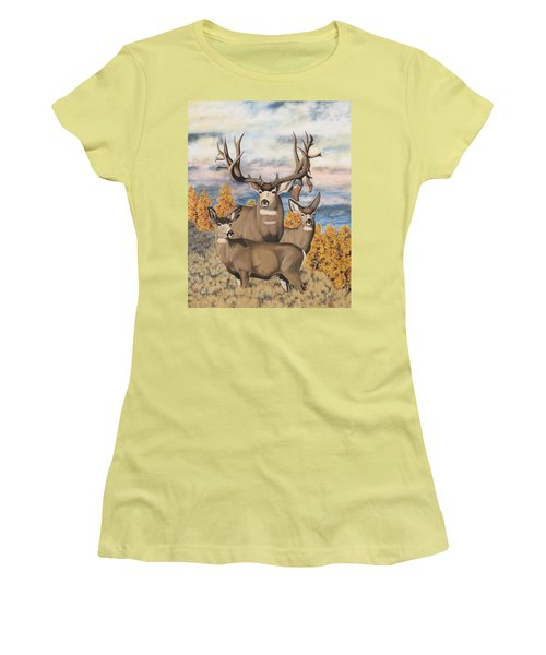 Avery Buck Women's T-Shirt (Athletic Fit)