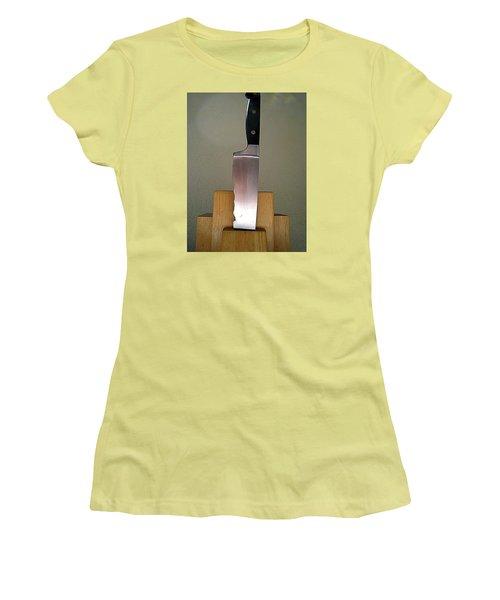 Women's T-Shirt (Junior Cut) featuring the photograph Bad To The Bone But Seen Better Days by John King