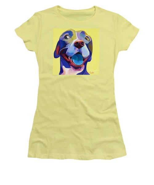 Bashful Women's T-Shirt (Athletic Fit)