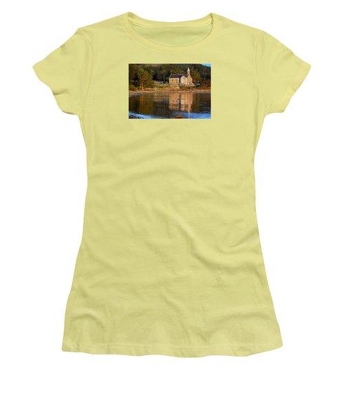 Bathed In Gods Light Women's T-Shirt (Junior Cut) by Wendy Wilton