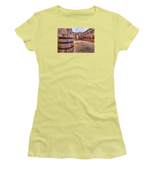 Battalion Barrell Women's T-Shirt (Junior Cut) by Tim Stanley