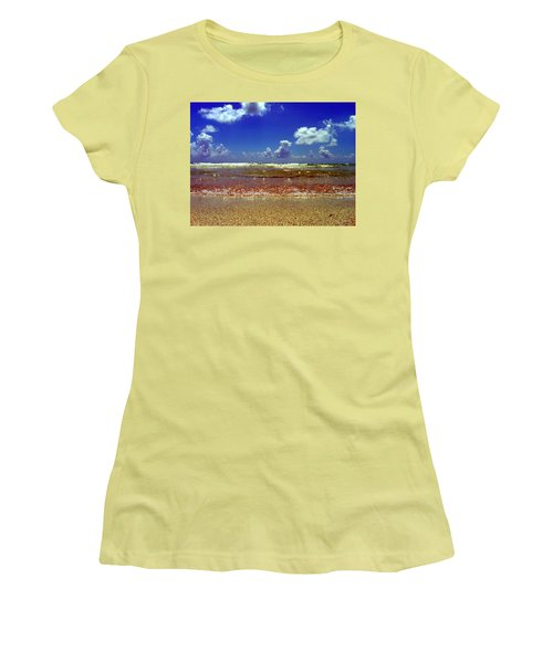 Women's T-Shirt (Junior Cut) featuring the photograph Beach by J Anthony