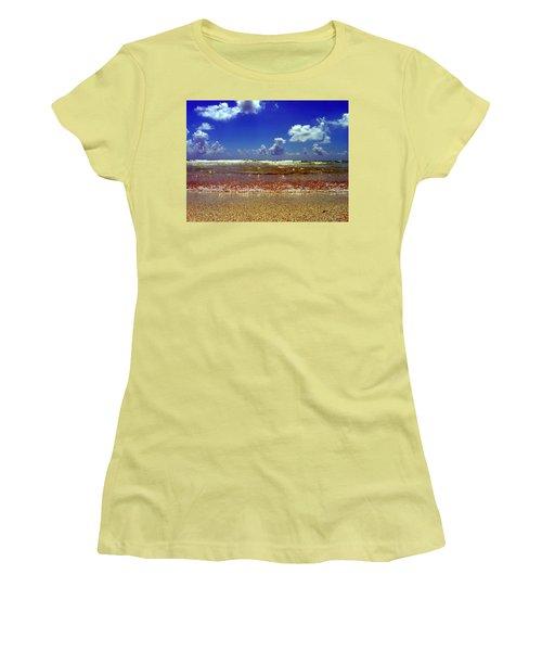 Beach Women's T-Shirt (Junior Cut) by J Anthony