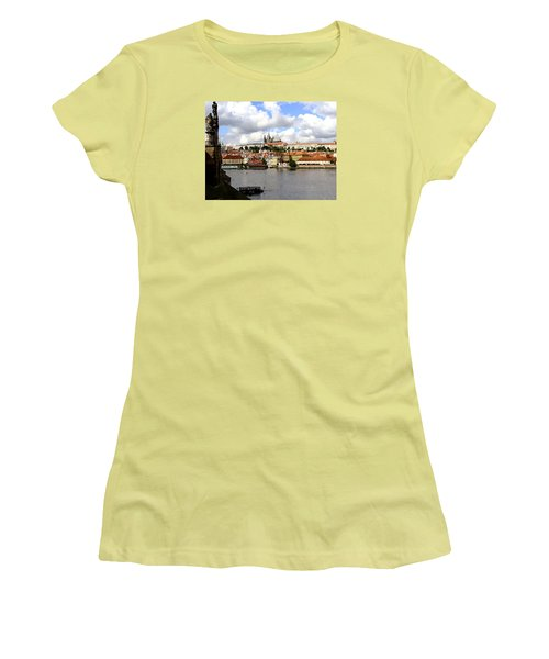 Women's T-Shirt (Junior Cut) featuring the photograph Beautiful Prague by Ira Shander