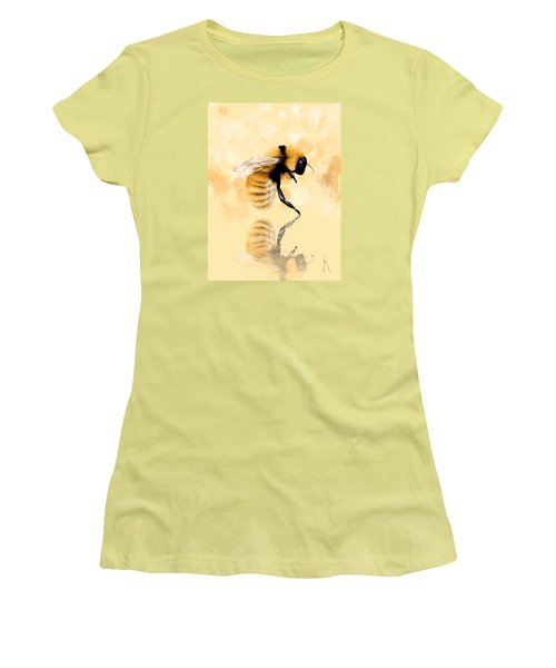 Bee Women's T-Shirt (Junior Cut) by Veronica Minozzi