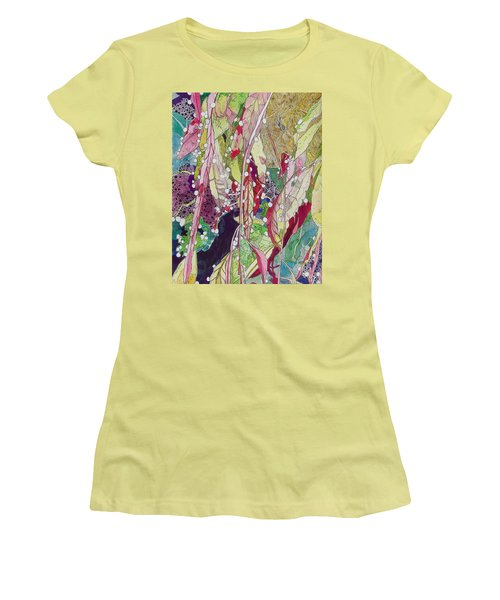 Berries And Cactus Women's T-Shirt (Athletic Fit)