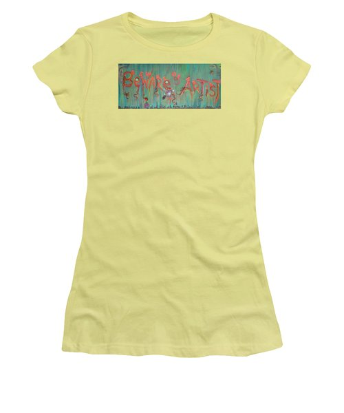 Beware Of Artist Women's T-Shirt (Athletic Fit)