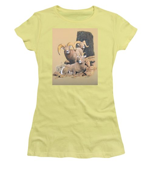 Bighorn Sheep Women's T-Shirt (Athletic Fit)