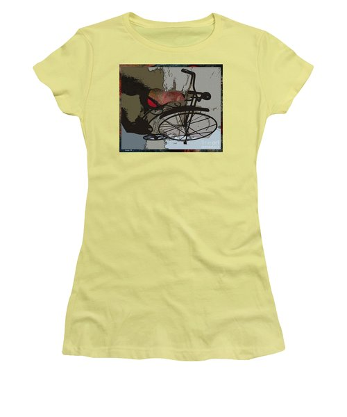 Bike Seat View Women's T-Shirt (Junior Cut) by Ecinja