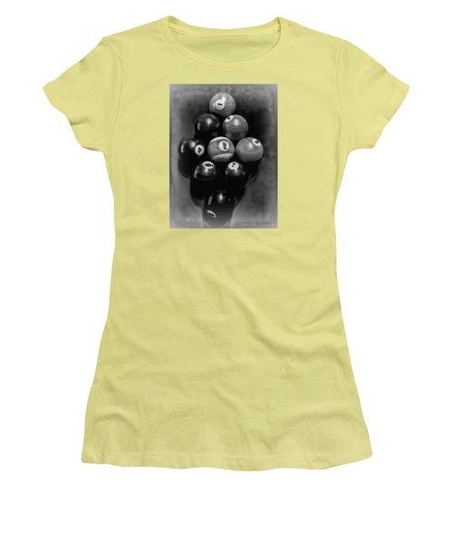 Billiards Art - Your Break - Bw  Women's T-Shirt (Athletic Fit)