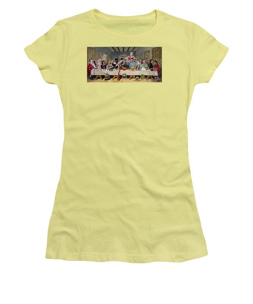 Bills Last Supper Women's T-Shirt (Athletic Fit)
