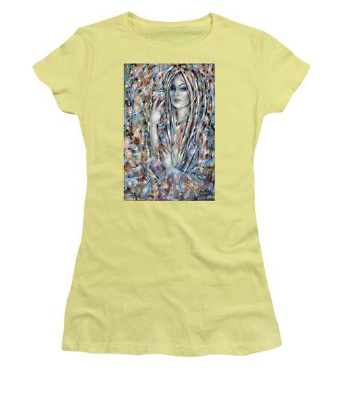 Bitter Sweet 270610 Women's T-Shirt (Junior Cut) by Selena Boron