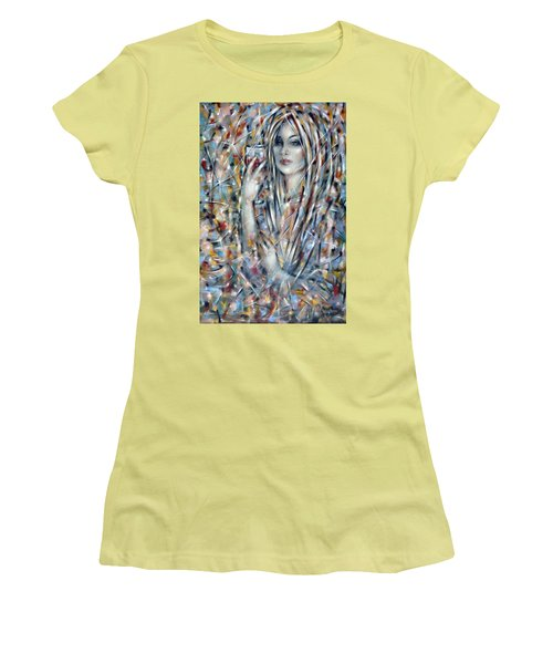 Bitter Sweet 270610 Women's T-Shirt (Junior Cut) by Selena Boron