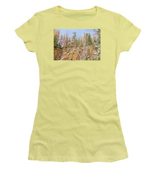 Black Hills Color Palette Women's T-Shirt (Athletic Fit)