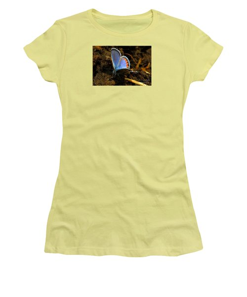 Women's T-Shirt (Junior Cut) featuring the photograph Blue Angel by Janice Westerberg