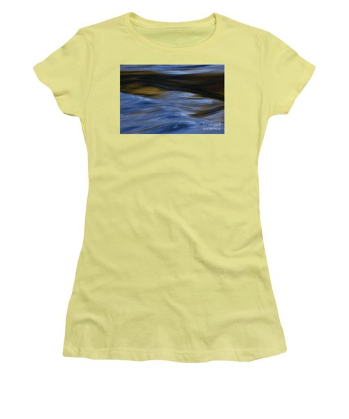 Women's T-Shirt (Junior Cut) featuring the photograph Blue Georgia Impressions by John F Tsumas