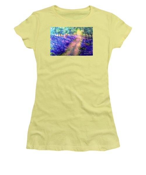 Bluebell Woods Women's T-Shirt (Junior Cut) by Hazel Holland