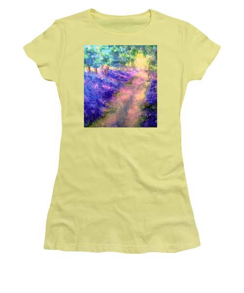 Bluebell Woods Women's T-Shirt (Athletic Fit)