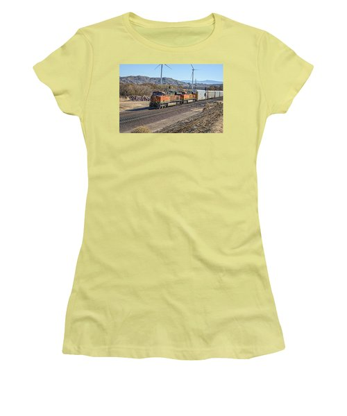 Bnsf 7454 Women's T-Shirt (Junior Cut) by Jim Thompson