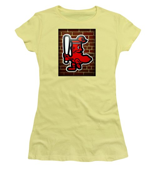 Boston Red Sox 1950s Logo Women's T-Shirt (Athletic Fit)