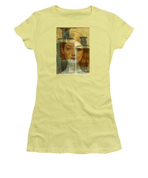 Bottled Up Women's T-Shirt (Junior Cut) by Michael Cinnamond