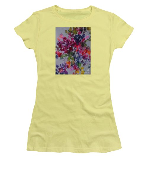 Bougainvillea Women's T-Shirt (Junior Cut) by Michelle Abrams