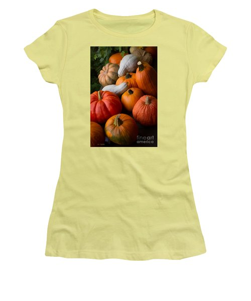Women's T-Shirt (Junior Cut) featuring the photograph Bountiful Harvest by Michael Flood