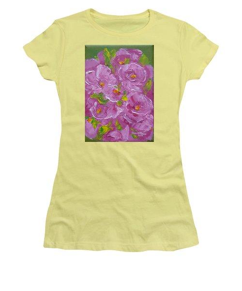 Bouquet Women's T-Shirt (Junior Cut) by Judith Rhue