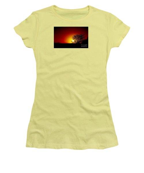 Breaking Dawn Women's T-Shirt (Junior Cut) by Amar Sheow