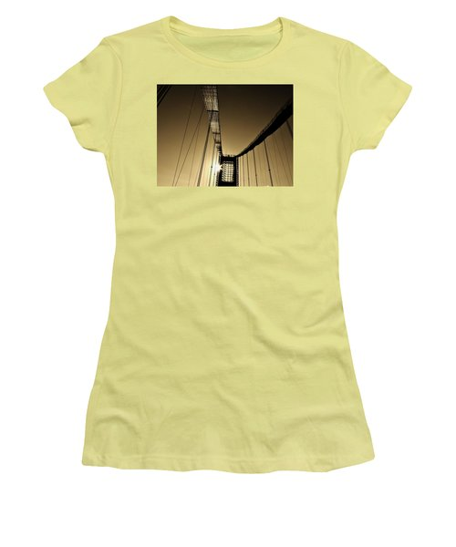 Bridge Work Women's T-Shirt (Athletic Fit)