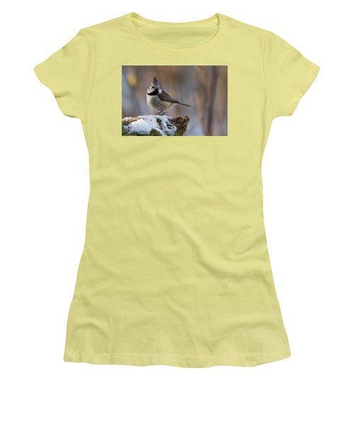 Brown Eyed Girl Women's T-Shirt (Junior Cut) by Torbjorn Swenelius