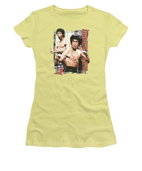 Bruce Lee - Enter Women's T-Shirt (Athletic Fit)