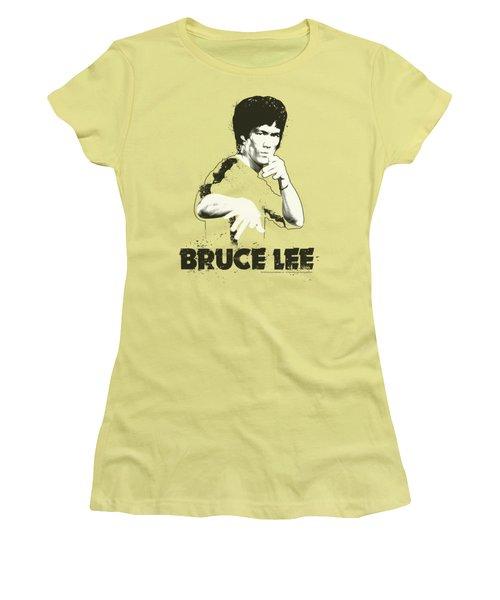 Bruce Lee - Suit Splatter Women's T-Shirt (Athletic Fit)