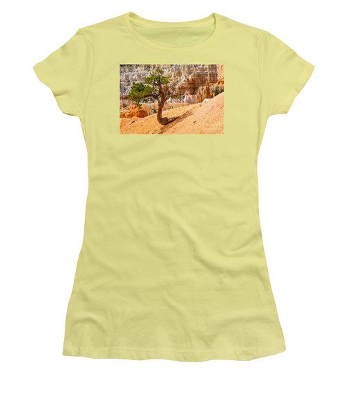 Women's T-Shirt (Junior Cut) featuring the photograph Bryce Canyon Np by Juergen Klust