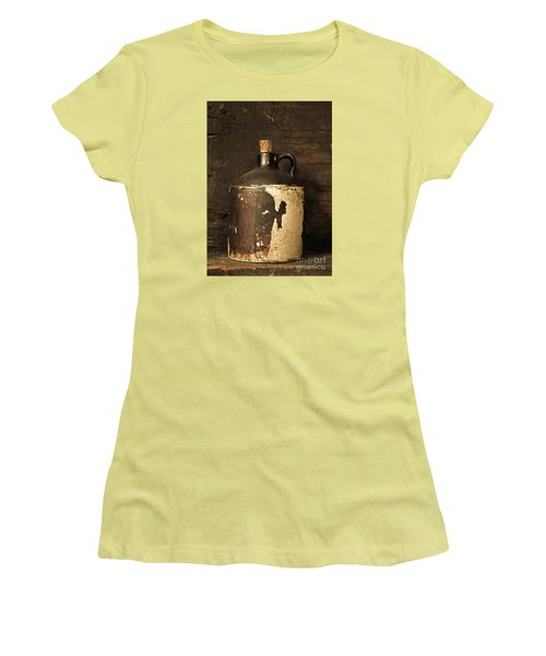 Buddy Bear Moonshine Jug Women's T-Shirt (Athletic Fit)