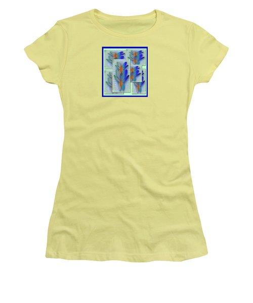 Butterflies 2 Women's T-Shirt (Junior Cut) by Iris Gelbart