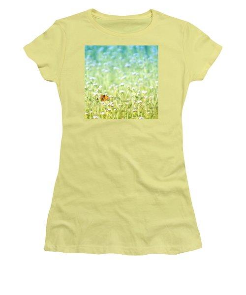 Butterfly Dreams Women's T-Shirt (Junior Cut) by Holly Kempe