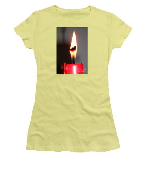 Butterfly Flame Women's T-Shirt (Athletic Fit)