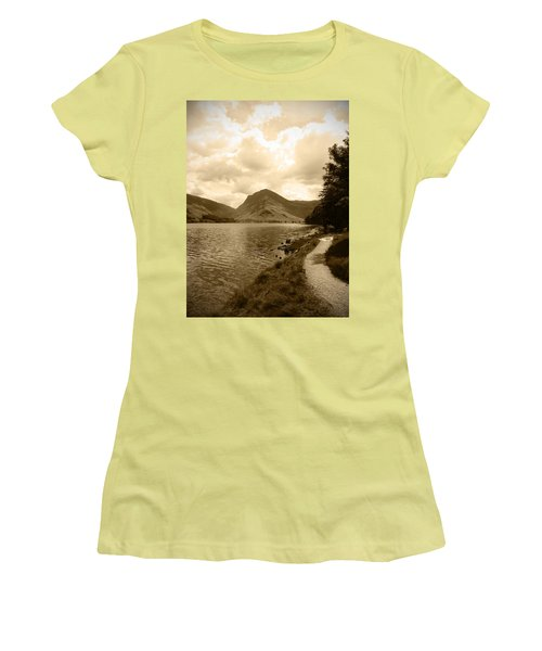 Buttermere Bright Sky Women's T-Shirt (Junior Cut) by Kathy Spall