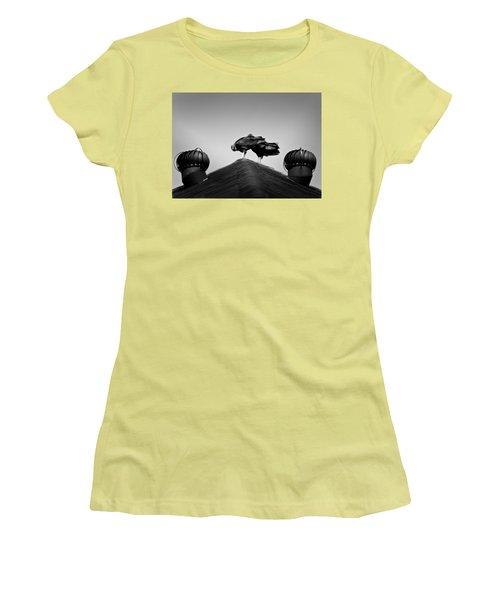 Buzzards 2 Women's T-Shirt (Junior Cut) by Mark Alder