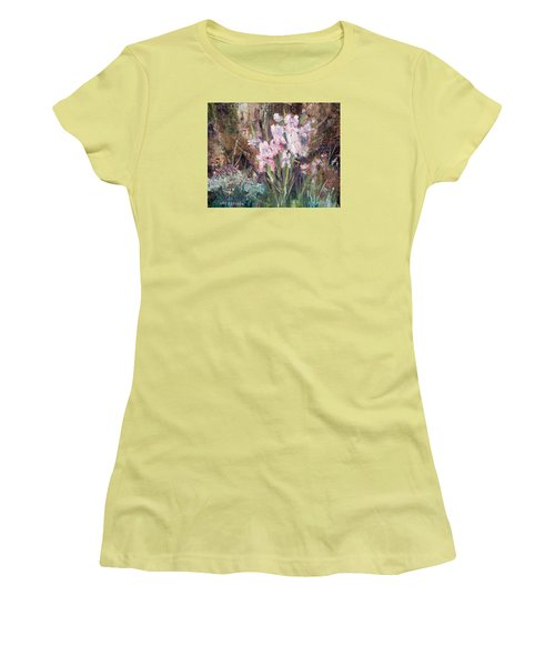 By The Side Of The Road Women's T-Shirt (Junior Cut) by Lee Beuther