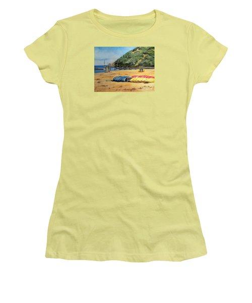 Camp Del Corazon  Women's T-Shirt (Junior Cut) by Lee Piper
