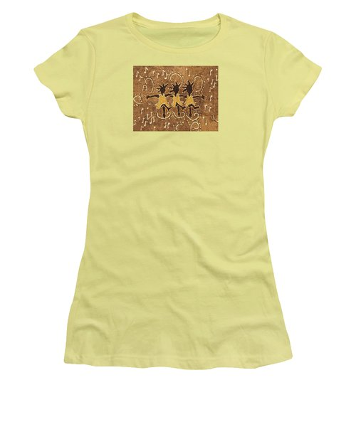 Can Can Dancers Women's T-Shirt (Athletic Fit)