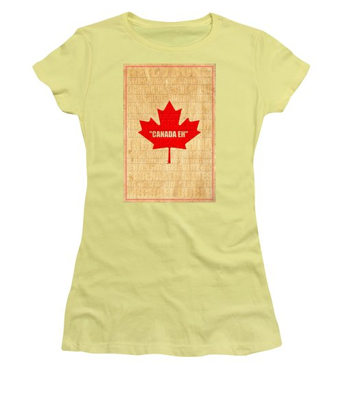 Canada Music 1 Women's T-Shirt (Athletic Fit)