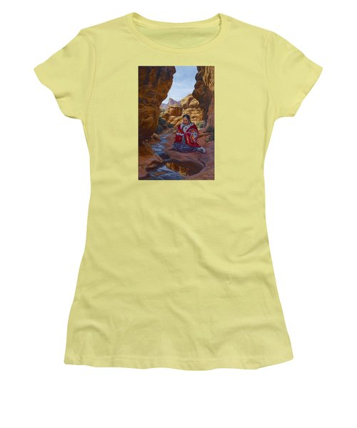 Canyon Cathedral Women's T-Shirt (Athletic Fit)