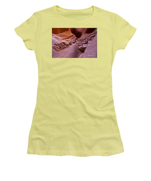 Canyon Rocks In Abundance  Women's T-Shirt (Athletic Fit)